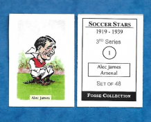 Arsenal Alex James Scotland 1 (FC)